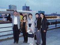 萬代橋西詰乗船場
