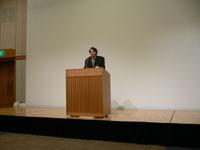 2008年度総会での水島会長